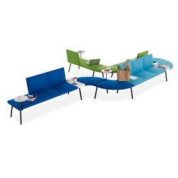 Loft | Modular seating systems | B&T Design