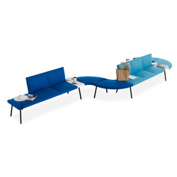 Loft | Waiting area benches | B&T Design