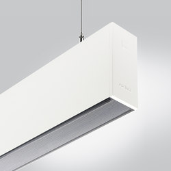 Rigo 50 | suspended bulging prismatic | General lighting | Arcluce