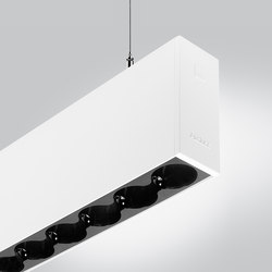 Rigo 50 | suspended gc black | General lighting | Arcluce