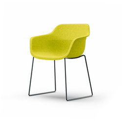 crona felt Chair 6325/A | Visitors chairs / Side chairs | Brunner