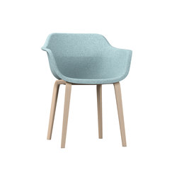 crona felt Armchair 6327/A | Visitors chairs / Side chairs | Brunner