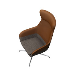 crona lounge Easy Chair 6381/AH | Lounge chairs | Brunner