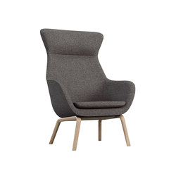 crona lounge Easy Chair 6387/AH | Lounge chairs | Brunner
