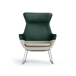 crona lounge Easy Chair 6385/AH | Lounge chairs | Brunner