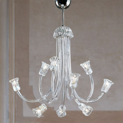 ART. 599 L9 | Ceiling suspended chandeliers | Leucos