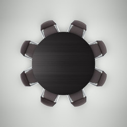 ray table 9312 | Conference tables | Brunner