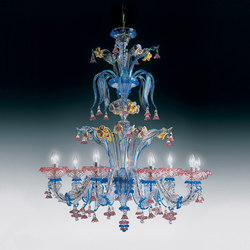 ART. 707 L6 | Ceiling suspended chandeliers | Leucos