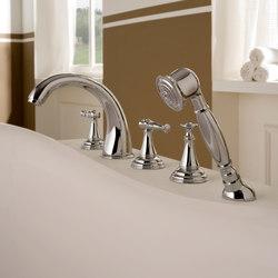 Lauren - Deck-mounted bathtub set | Bath taps | Graff
