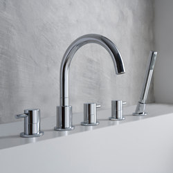 M.E. 25 - Deck-mounted bathtub mixer set | Grifería para bañeras | Graff