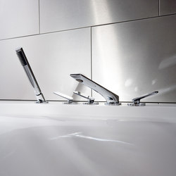 Sento - Deck-mounted bathtub mixer set | Bath taps | Graff
