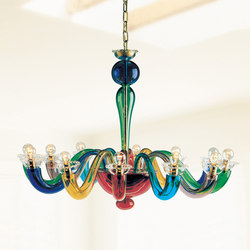 Serenissima L12 | Ceiling suspended chandeliers | Leucos