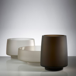 Zea Coupe & Vase | Bols | Anna Torfs