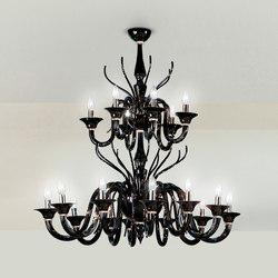 Belzebu L18 | Ceiling suspended chandeliers | Leucos
