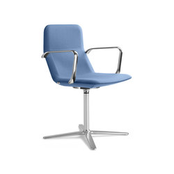 Flexi chl br f25 n6 | Visitors chairs / Side chairs | LD Seating