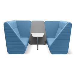Meeting Port Box km2-br-02 | Modular seating systems | LD Seating
