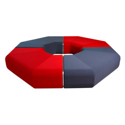 Open Port dl-3/90° | Modular seating elements | LD Seating