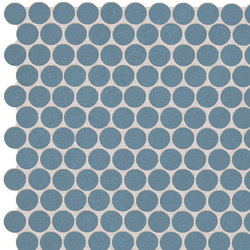 Color Now Avio Round Mosaico | Ceramic mosaics | Fap Ceramiche