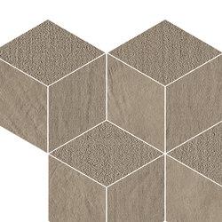 Trame | Tabacco Cube | Ceramic mosaics | Lea Ceramiche