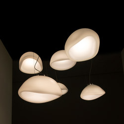 Aurum glass lamp translucent | Suspensions | Tuttobene