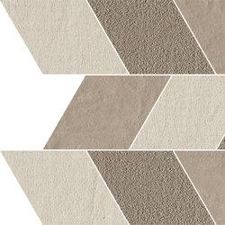Trame | Leaf Chiaro | Keramik Mosaike | Lea Ceramiche