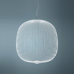 Spokes 2 Large suspension blanco | General lighting | Foscarini