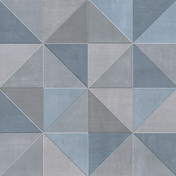 Color Now Tangram Avio Inserto | Carrelage céramique | Fap Ceramiche