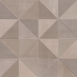 Color Now Tangram Fango Inserto | Ceramic tiles | Fap Ceramiche
