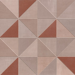 Color Now Tangram Rame Inserto | Ceramic tiles | Fap Ceramiche
