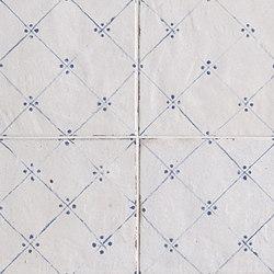 Firenze Heritage Maiolica Bianca Déco Blu Gloss | Floor tiles | Fap Ceramiche