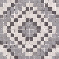 Firenze Heritage Decò Grigio Mosaico | Ceramic mosaics | Fap Ceramiche