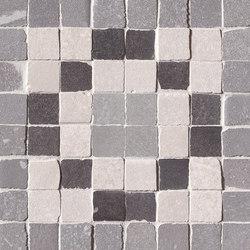 Firenze Heritage Decò Grigio Angolo Fascia Mosaico | Keramik Mosaike | Fap Ceramiche