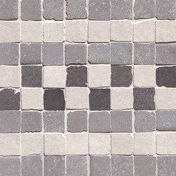Firenze Heritage Decò Grigio Fascia Mosaico | Ceramic mosaics | Fap Ceramiche
