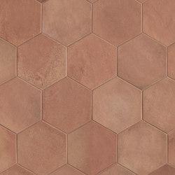 Firenze Heritage Esagono Rosato Matt | Piastrelle/mattonelle per pavimenti | Fap Ceramiche