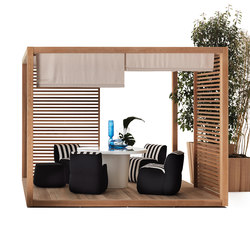 ZEN Light Single | Gazebo da giardino | Exteta