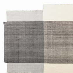 Nobsa | rug large, grey/grey/cream | Tapis / Tapis design | Ames