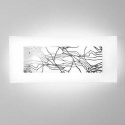 Laguna P74 Platino | Lampade parete | Leucos
