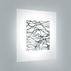 Laguna P Platino | Lampade parete | Leucos