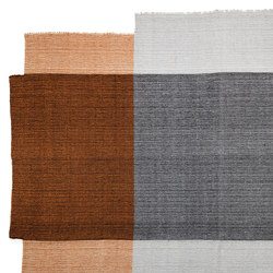 Nobsa | rug large, grey/ochre/cream | Tapis / Tapis design | Ames