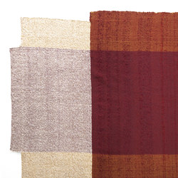 Nobsa | rug large, red/ochre/cream | Tappeti / Tappeti d'autore | Ames