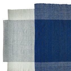 Nobsa | rug large, blue/mint/cream | Rugs / Designer rugs | Ames