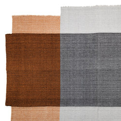 Nobsa | rug medium, grey/ochre/cream | Tapis / Tapis de designers | Ames