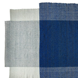 Nobsa | rug medium, blue/mint/cream | Tapis / Tapis design | Ames