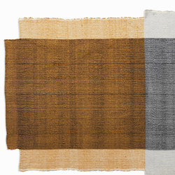Nobsa | rug small, grey/ochre/cream | Rugs / Designer rugs | Ames