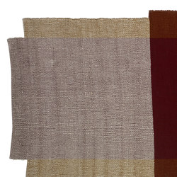 Nobsa | rug small, red/ochre/cream | Rugs / Designer rugs | Ames