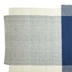 Nobsa | rug small, blue/mint/cream | Rugs / Designer rugs | Ames