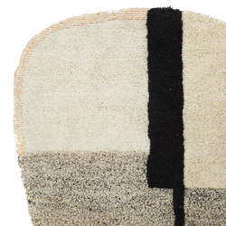 Nudo | rug small, white/beige/rose | Tapis / Tapis design | Ames