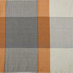 Ruana | Wolldecke, gelb/grau/blau | Decken | Ames