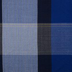 Ruana | plaid, blue/black/yellow | Coperte | Ames