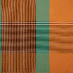 Ruana | Wolldecke, ocker/grün/rosa | Decken | Ames